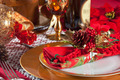 Decorated Christmas Dinner Table Setting - PhotoDune Item for Sale