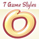 7 Game Title Designs - Game Text Effect - GraphicRiver Item for Sale