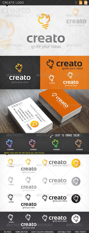 GraphicRiver Creato Logo 6001691
