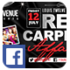 Red Carpet #3 | Facebook Cover - GraphicRiver Item for Sale