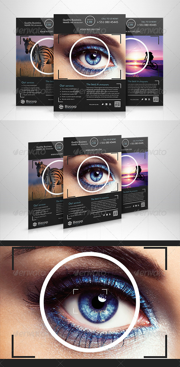 GraphicRiver Corporate Flyer Template 009 6002124