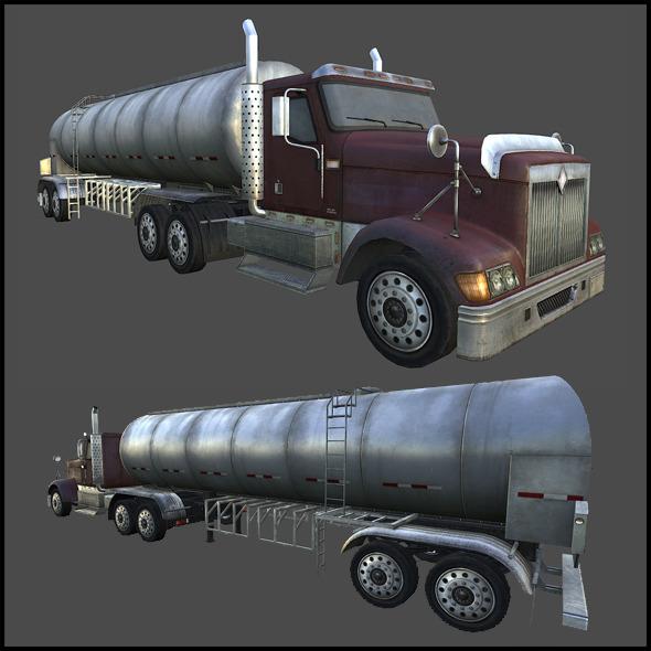 3DOcean Water Tanker 6002493