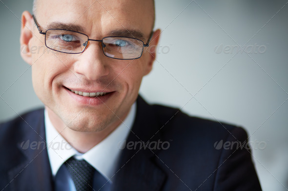 Happy businessman - Stock Photo - Images