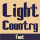 Light Country Font - GraphicRiver Item for Sale