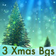 Christmas Tree Backgrounds Pack V1 - VideoHive Item for Sale