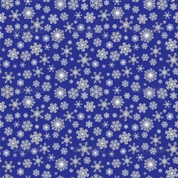 GraphicRiver Background with Snowflakes 6005959