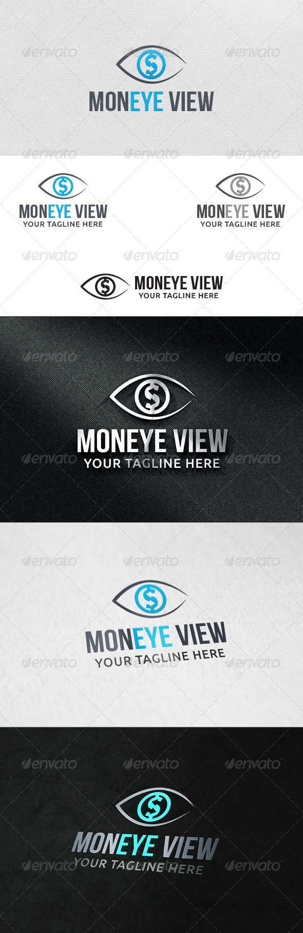 GraphicRiver Money View Logo Template 6006959