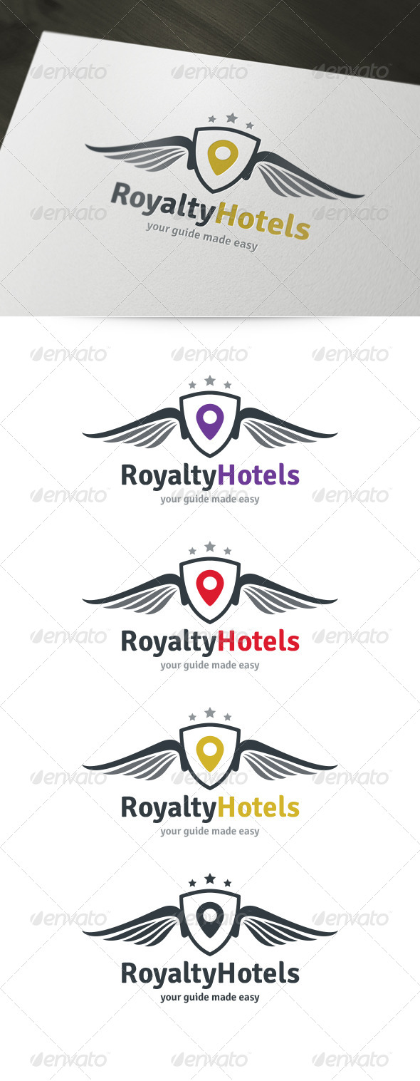 GraphicRiver Royal Hotels Logo 6007158