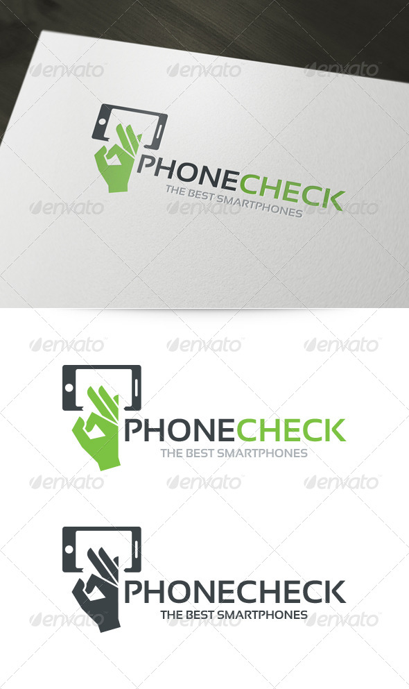 GraphicRiver Phone Check Logo 6008409