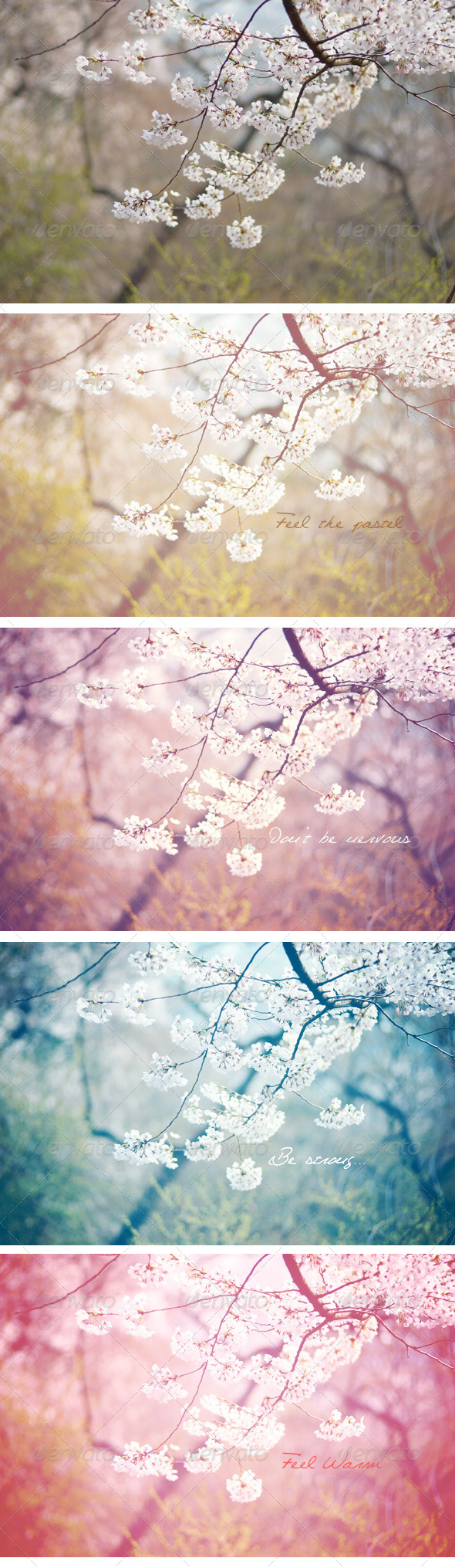 GraphicRiver Pastel Haze Action Set 6008644