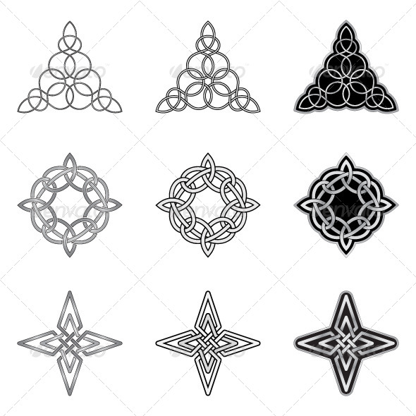 GraphicRiver Celtic Knots Models and Patterns 6011183