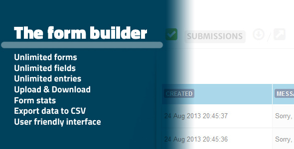 CodeCanyon The Form Builder WebApp SaaS 5891927
