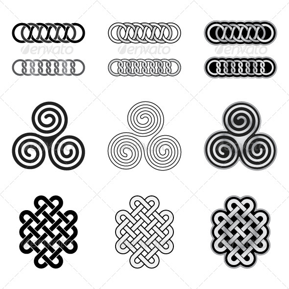 GraphicRiver Celtic Knots Models and Patterns 6011695