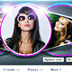 Abstract Artistic Facebook Timeline Cover  V2