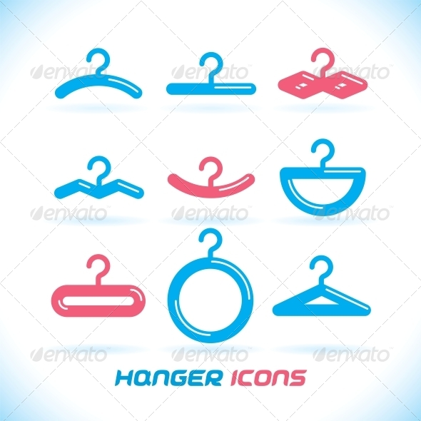 GraphicRiver Hanger Icons 6012405