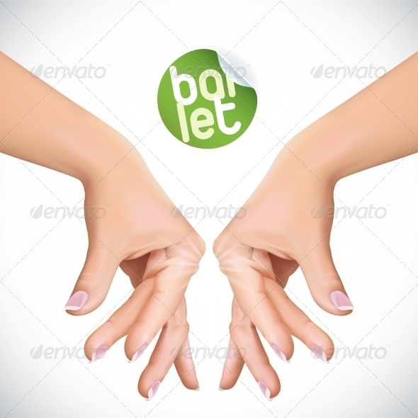 GraphicRiver Ballet Hands 6012504