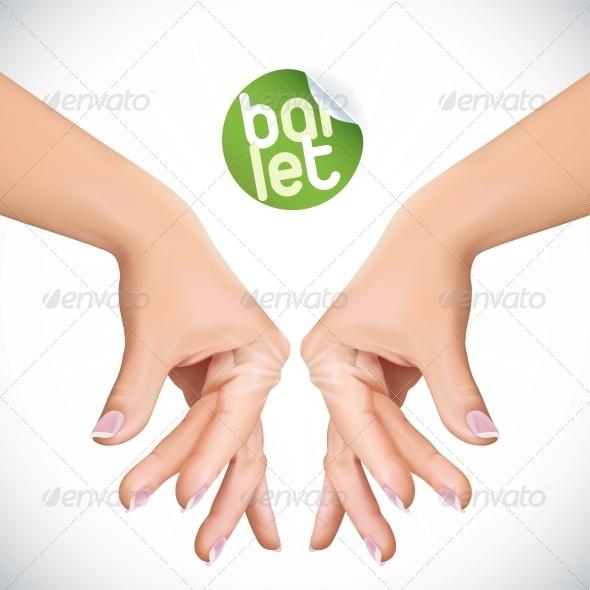 GraphicRiver Ballet Hands 6012504