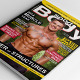 Fitness Body Magazine - GraphicRiver Item for Sale