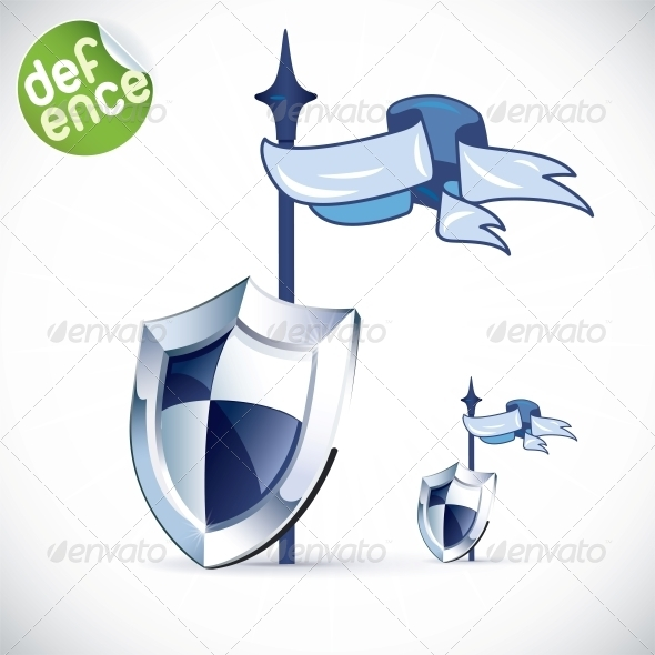GraphicRiver Shield Illustration 6012710