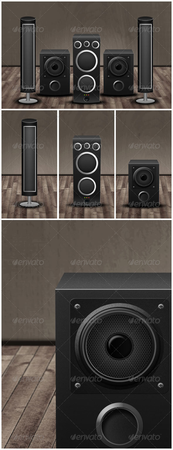 GraphicRiver Music Boxes 6001517