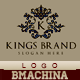 Kings Brand Logo Template - GraphicRiver Item for Sale