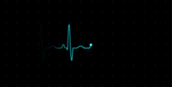 [VideoHive 615689] EKG Heartbeat Monitor Electrocardiogram  | Motion Graphics
