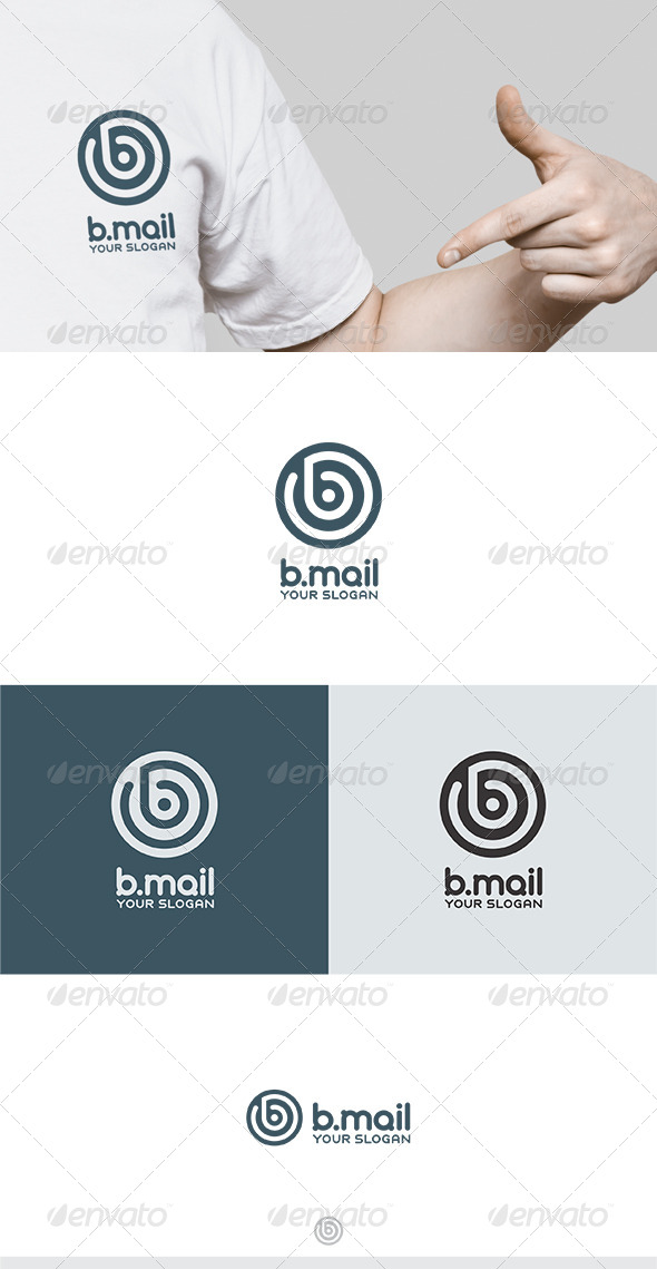 GraphicRiver B Mail Logo 6014188