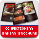 Bakery & Confectionery Brochure - GraphicRiver Item for Sale