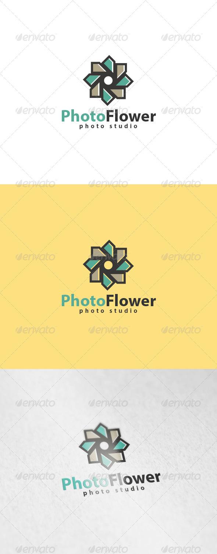 GraphicRiver Photo Flower Logo 6014978