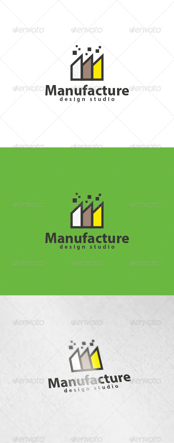 GraphicRiver Manufacture Logo 6015000