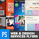 Web & Graphic Design Service Flyer Pack (4in1) - GraphicRiver Item for Sale