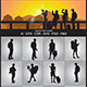 Tourist Silhouettes - GraphicRiver Item for Sale