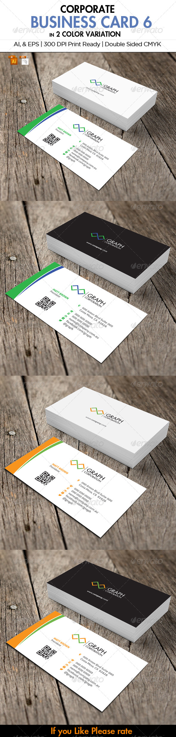 GraphicRiver Corporate Stationery 6 6018692