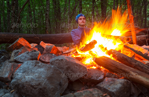 Campfire - Stock Photo - Images