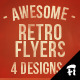 The Vintage Set: Flyers / Insignias vol.2 - GraphicRiver Item for Sale