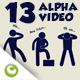 13 Videos of Iconic Language Person - VideoHive Item for Sale