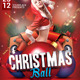 Christmas Ball Party Flyer Template - GraphicRiver Item for Sale
