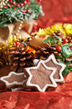 crumbly chocolate Christmas cookies with ginger - PhotoDune Item for Sale
