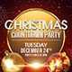 Christmas Countdown Party Flyer - GraphicRiver Item for Sale