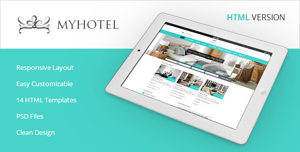 My Hotel - Online Hotel Booking Template - Travel Retail