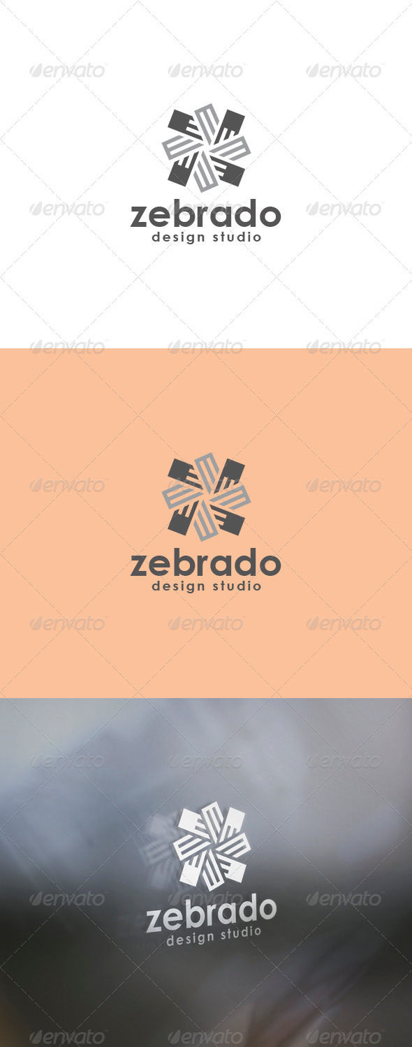 Zebrado Logo - Abstract Logo Templates