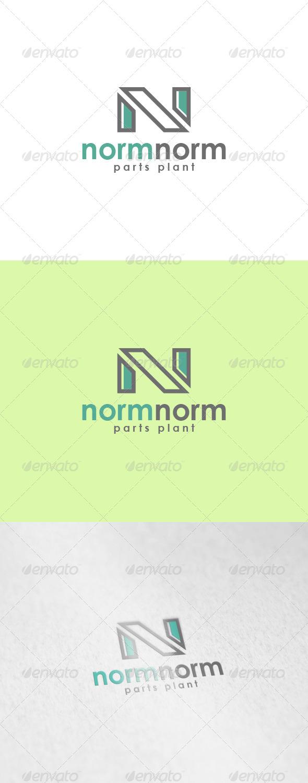 GraphicRiver Normnorm Logo 6023581