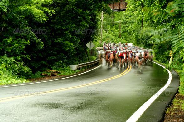 PhotoDune Bicycle road race 636977