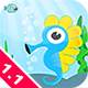 Seahorse Jump - Funny HTML5 Game - CodeCanyon Item for Sale
