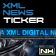 XML NEWS TICKER - ActiveDen Item for Sale