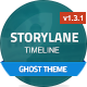 Storylane - Timeline Ghost Theme - ThemeForest Item for Sale