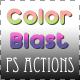 Color Blast Photoshop Actions - GraphicRiver Item for Sale