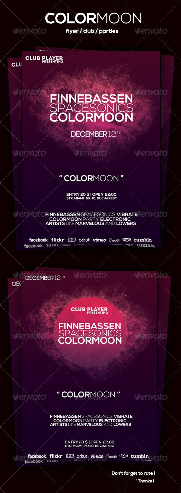 GraphicRiver ColorMoon Flyer 6029869