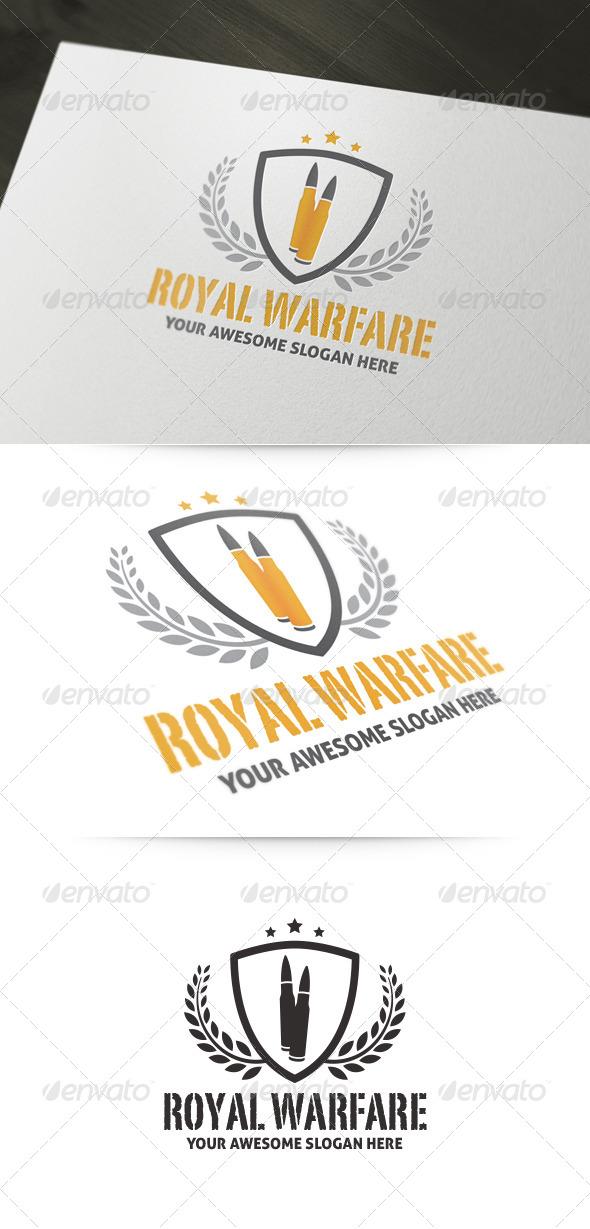 GraphicRiver Royal Warfare Logo 6032091