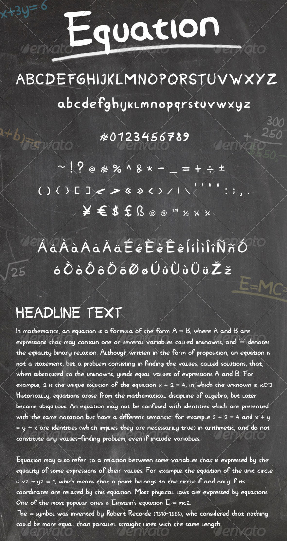 GraphicRiver Equation 6032667